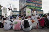 """Protest der Klimagerechtigkeitsbewegung """"Limity jsme my"""""""